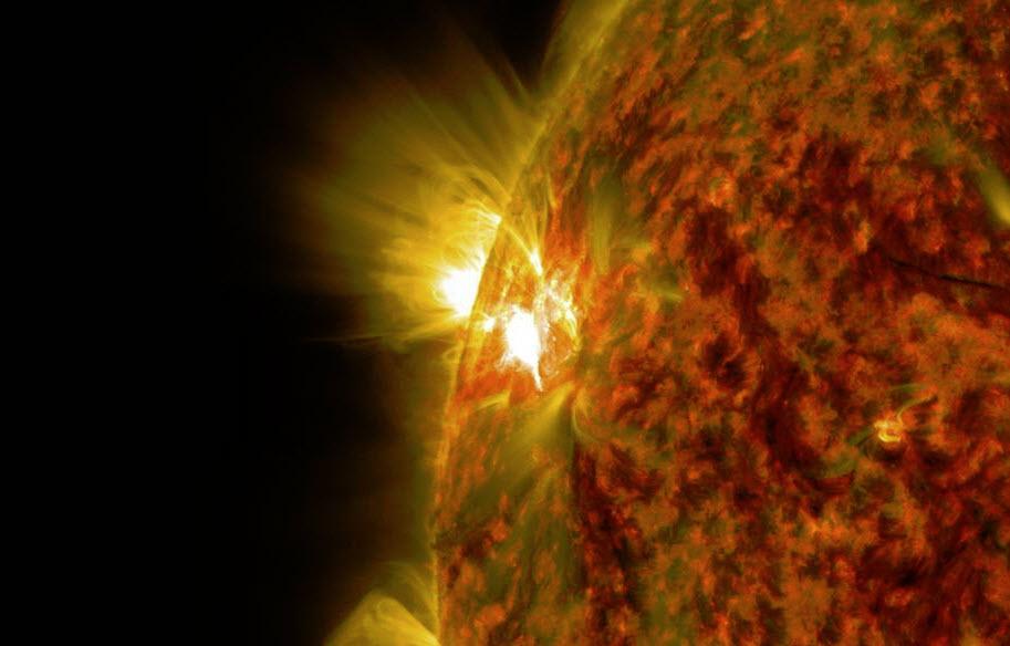 Flare 5 nov 2014_Bild NASA_SDO