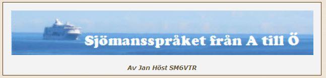 Sjömansspråket logo